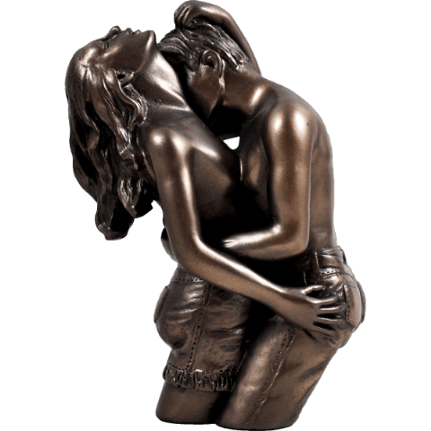 Loves Pleasure Cold Cast Bronze Sculpture
